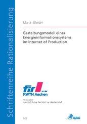 Gestaltungsmodell eines Energieinformationssystems im Internet of Production