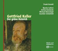 Der grüne Heinrich, 4 Audio-CDs
