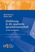 Einführung in die spanische Sprachwissenschaft