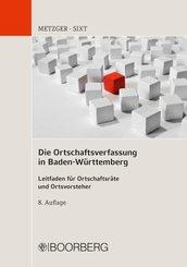 Die Ortschaftsverfassung in Baden-Württemberg; Band 11