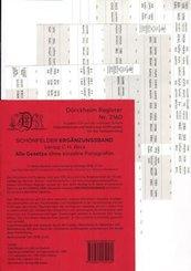 SCHÖNFELDER Ergänzungsband Griffregister Nr. 2160 (2020)