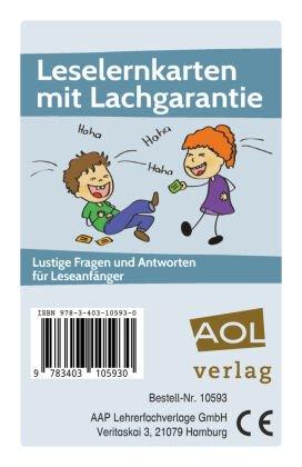 Leselernkarten mit Lachgarantie (Kartenspiel)