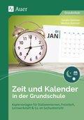 Zeit und Kalender in der Grundschule