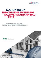 Tagungsband Immobilienbewertung und Sachverstand am Bau 2019