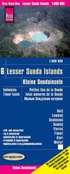 Reise Know-How Landkarte Kleine Sundainseln / Lesser Sunda Islands (1:800.000) - Bali, Lombok, Sumbawa, Sumba, Flores, T