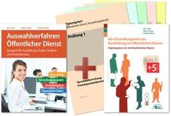Auswahlverfahren und Einstellungstest Öffentlicher Dienst - alles in einem Paket