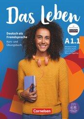 Das Leben - Deutsch als Fremdsprache - A1: Teilband 1 - Tl.-Bd.1