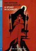 A Study in Scarlet, w. Audio-CD