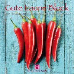 Gute Laune Block Scharfe Chilis