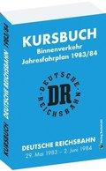 Kursbuch der Deutschen Reichsbahn 1983/1984