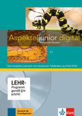 Aspekte junior: Lehrwerk digital mit interaktiven Tafelbildern C1, DVD-ROM