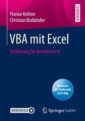 VBA mit Excel, m. 1 Buch, m. 1 E-Book