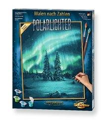 Meisterklasse Premium, Malen nach Zahlen (Mal-Sets): Polarlichter