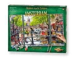 Meisterklasse Triptychon, Malen nach Zahlen (Mal-Sets): Amsterdam