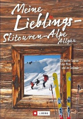 Meine Lieblings-Skitouren-Alpe Allgäu
