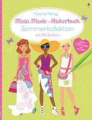 Mein Mode-Stickerbuch: Sommerkollektion