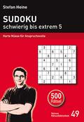 Sudoku - schwierig bis extrem - Bd.5