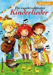 Die wunderschönsten Kinderlieder, m. Audio-CD