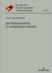 Die Parteiautonomie im europäischen Erbrecht