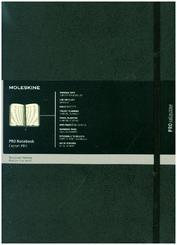 Moleskine Professionelles Notizbuch A4, Hard Cover, Schwarz