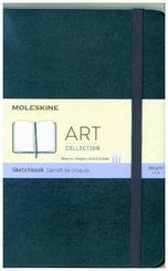 Moleskine Skizzenbuch Medium, 165G-Papier, Hard Cover, Saphir