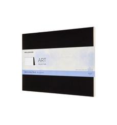 Moleskine Wasserfarbblock 23x31, 200G-Aquarellpapier, Soft Cover, Schwarz