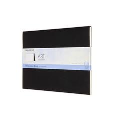 Moleskine Wasserfarbblock XL, 200G-Aquarellpapier, Soft Cover, Schwarz