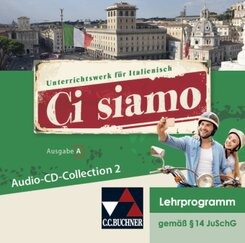 Ci siamo, Ausgabe A: Audio-CD-Collection 2, Audio-CDs