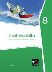 mathe.delta, Ausgabe Bayern: 8. Jahrgangsstufe, Lehrbuch