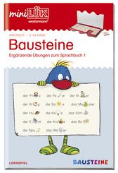 miniLÜK: Bausteine - Ergänzende Übungen zum Sprachbuch 1
