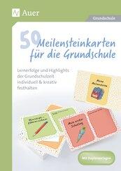 50 Meilensteinkarten für die Grundschule