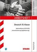 Arbeitsheft Realschule - Deutsch BaWü - Rahmenthema 2019/20 - Herausforderung Digitalisierung