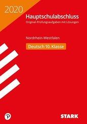 Hauptschule 2020 - Hauptschulabschluss Nordrhein-Westfalen - Deutsch 10. Klasse