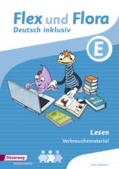 Flex und Flora - Deutsch inklusiv: Lesen inklusiv E (Verbrauchsmaterial)