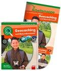 Leselauscher Wissen - Geocaching und Naturabenteuer, Set m. Audio-CD
