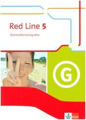 Red Line. Ausgabe ab 2014 -9. Klasse, Grammatiktraining aktiv, m. CD-ROM - Bd.5
