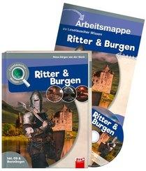 Leselauscher Wissen - Ritter und Burgen, Set m. Audio-CD