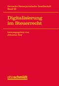 Digitalisierung im Steuerrecht
