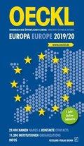 OECKL Taschenbuch des Öffentlichen Lebens - Europa 2019/2020 / Oeckl Directory of Public Affairs - Europe and Internatio