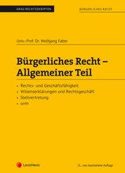Bürgerliches Recht - Allgemeiner Teil (f. Österreich)