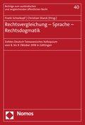 Rechtsvergleichung - Sprache - Rechtsdogmatik