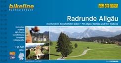 Bikeline Radtourenbuch RadRunde Allgäu