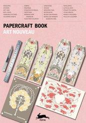 Papercraft Book Art Nouveau