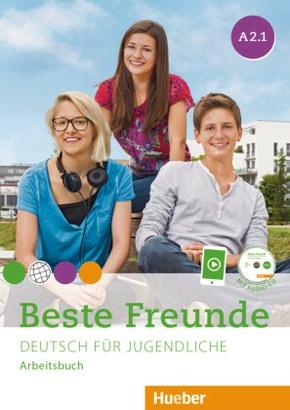 Beste Freunde - Deutsch für Jugendliche: Arbeitsbuch mit Audio-CD; A2/1