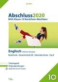 Abschluss 2020 - MSA Klasse 10 Nordrhein-Westfalen Englisch, m. Audio-CD