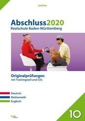 Abschluss 2020 - Realschule Baden-Württemberg, m. Audio-CD