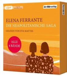 Die Neapolitanische Saga, 7 Audio-CD MP3