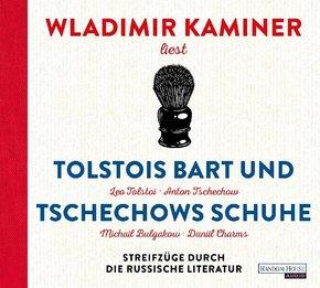 Tolstois Bart und Tschechows Schuhe, 4 Audio-CD