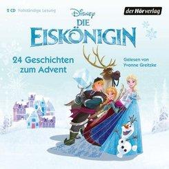 Die Eiskönigin - 24 Geschichten zum Advent, 2 Audio-CD
