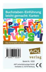 Buchstaben-Einführung leicht gemacht: Karten